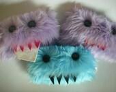 Custom Purple Tissue Monster,u pick the teeth color