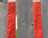 Orange Cord Purse