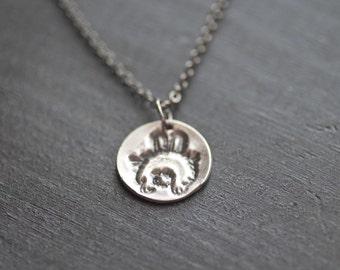 bunny butt necklace - rabbit necklace - bunny necklace - rabbit jewelry - bunny jewelry - bunny tail necklace - rabbit tail charm