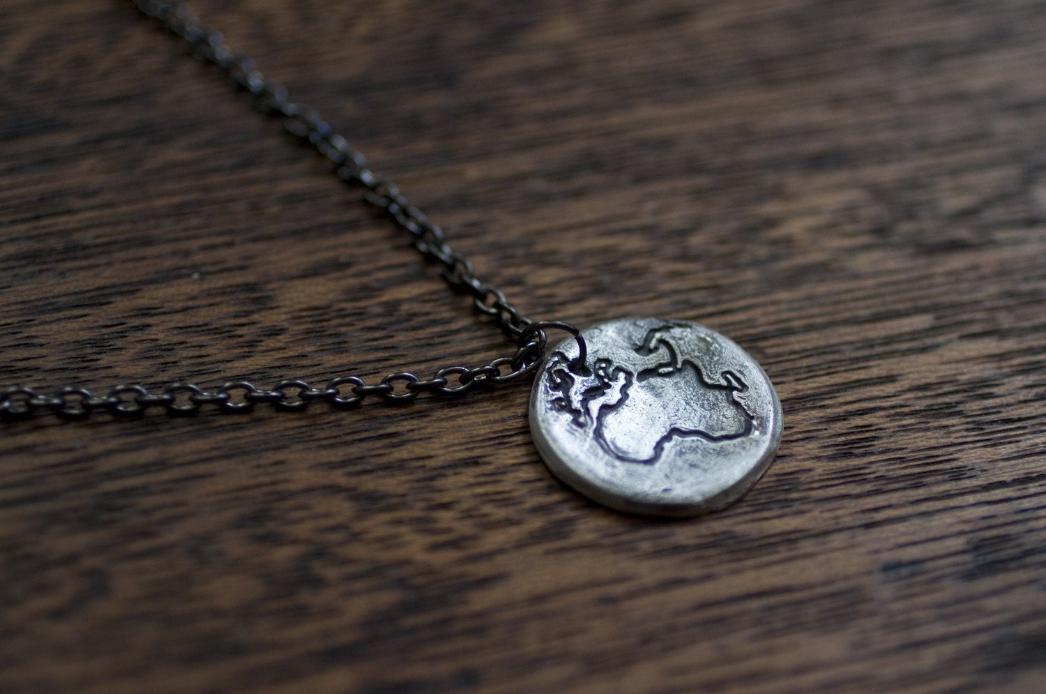 the whole world necklace Africa world map necklace map by truche
