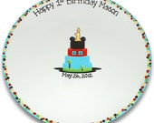 Mouse Clubhouse Inspired 1st Birthday Signature Platter