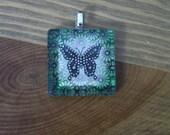 Green Butterfly Pendant