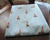 Heather Ross Gnome Fabric in blue - 2 yards  Reserved Jesse