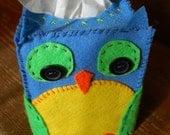 Sam the Owl Tissue Box Cozy