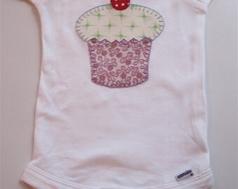 Cupcake onesie, 3-6M
