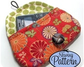Easy Envelope Clutches PDF Sewing Pattern