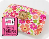 Zip Pocket Pouches Sewing Pattern - PDF (Email Delivery) - 3 Sizes