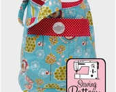 Bucket Bag Sewing Pattern - PDF Pattern (Email Delivery) - Instructions to Make the Bag Yourself