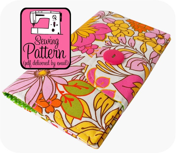 Sewing Pattern to Make a Swatch Book Cover - PDF (Email Delivery)