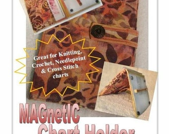 Magnetic Chart Holder ePattern -  PDF File - instant download