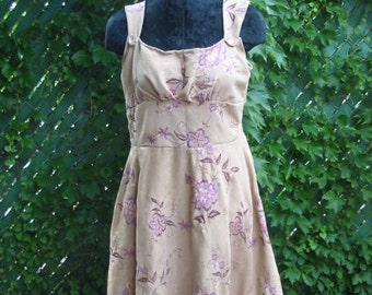 One of A Kind Embroidered Sequin Rose Dress
