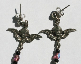 Cemetery Angel Earrings