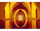 Photography Cistern of Palace Sevilla Spain