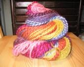 Rockin Rainbow Handspun Yarn