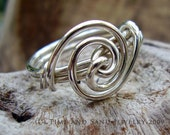 It's Twisted Ring in Sterling No. 3