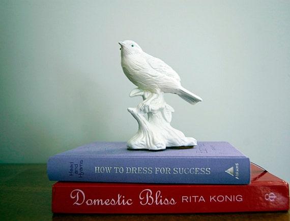Blue-eyed Ceramic Bird