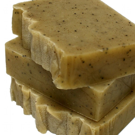 Appalachian Trail Shea Butter Soap - Natural Exfoliating Cold Process Soap