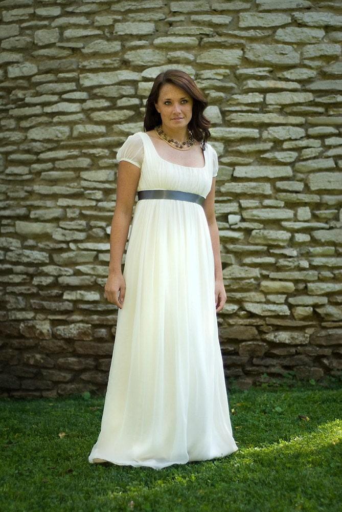 Sample Sale Jane Wedding Dress Eco Friendly Long Regency