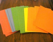 Large Stack of Primary Colors Cardstock
