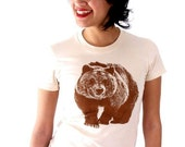 Grizzly Bear T-Shirt - Women's LARGE