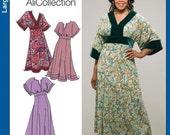 Simplicity 4050 - Misses Dress Pattern, Size FF (18W-24W)