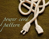 PATTERN - Knitted Power Cord
