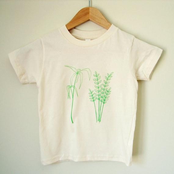 Children's Shirt - Plant Cuttings (4 yrs)