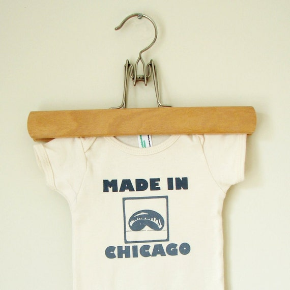 Made in Chicago onesie (6-12 mo)
