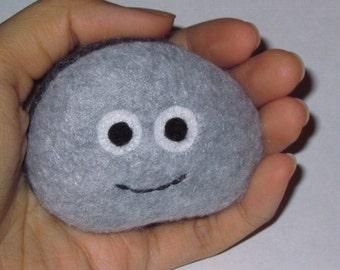 Pet Rock Plush Granite Gray