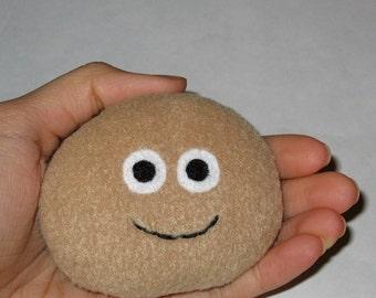 Pet Rock Plush Tan