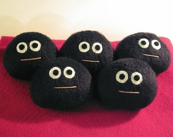 Lumpy the Coal Plush -- Holiday Special Edition Pet Rock for Christmas
