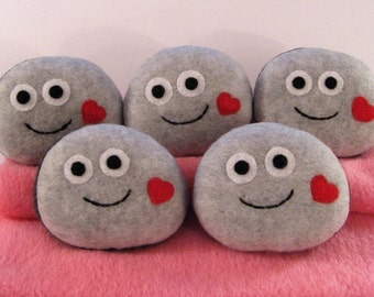 Pet Rock with a heart