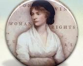 Mary Wollstonecraft Pocket Mirror tartx