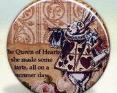 Herald Rabbit Wonderland Pocket Mirror tartx
