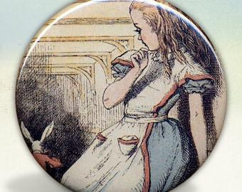 Alice Looking pocket mirror tartx