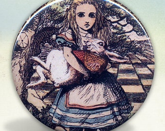 Alice Holding the Rabbit tartx
