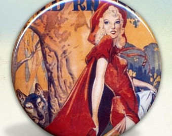 Red Riding Hood Sexy pocket mirror tartx