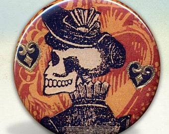 Posada Calavera Fine Lady pocket mirror tarx