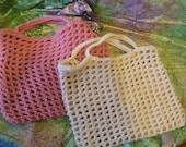 Shopping Bag (rose pink)