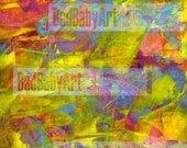 Digital Paper for Collage - Multi 1