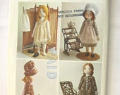 Vintage 1970s Holly Hobbie Doll Pattern Simplicity 6006