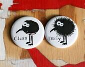 Dishwasher magnet set (monster in his underoos)