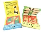 Vintage Mid Century Modern Pop Up Matchless Matchbook Games - Set of 2