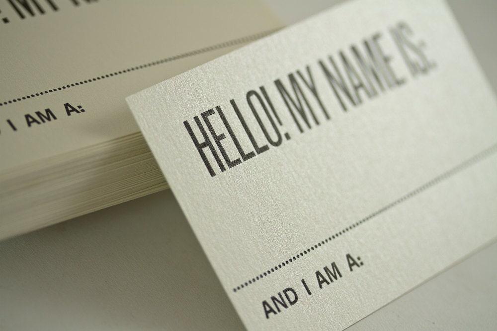 zoom - Name Tag Design Ideas