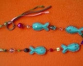 Lala fish necklace