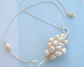 Knot of Pearls Necklace