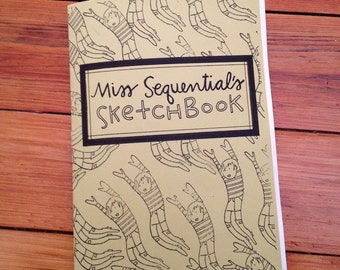 Miss Sequential's Sketchbook zine (Miss Sequential number 5)