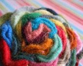 Prism Blossom wool felt pin