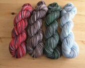 HARRY POTTER DRAGON SET - TWIST Handpainted Sunshine Yarns Superwash
