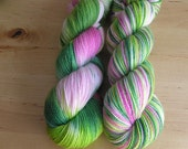 HOW DOES YOUR GARDEN GROW - SOFT Handpainted Sunshine Yarns Superwash